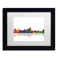 Albuquerque New Mexico II by Marlene Watson Framed Graphic Art