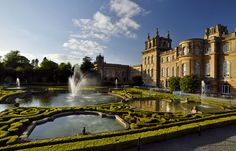 Blenheim Palace Garden, Oxfordshire. Designed by Capability Brown.