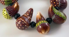 Gourd Necklace Melanie West