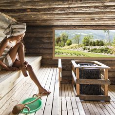 Kelo - our wellness cult site Sauna House, Sauna Room, Mini Sauna, St Mathew, Sauna Shower, Sauna Design, Outdoor Sauna, Spa Rooms, Luxury Spa