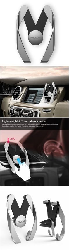 Universal air vent car mount phone holder for all small and big smart phones. Great for driving and using your mobile devices in the car. Now be able to see your phone in all angles with this magnet while taking your road trips and travels. Great for iPhones, Androids, Windows
