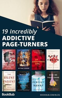 19 Incredibly Addictive PageTurners is part of Thriller books - Cancel your plans — once you start, you won't want to stop Books You Should Read, Best Books To Read, I Love Books, Great Books, Ya Books, Books To Read For Women, Best Selling Books, Book To Read, Best Books Of All Time