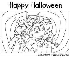 arthur pbs kids coloring pages   Alf.... gotta love the 80's   Free Coloring Pages ...