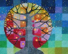 Tree and Stars print | Flickr: Intercambio de fotos