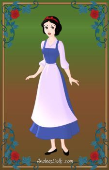 Snow White as Belle by Heroine-FA-C-n-Xover