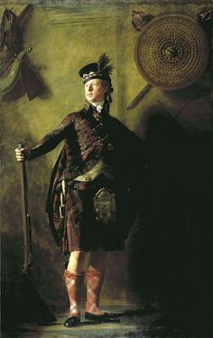 Henry Raeburn's portrait of Alasdair Ranaldson MacDonell of Glengarry (1771 - 1828) in 1812 year. 241,90 x 151,10 см. author sir Henry Raeburn. National Gallery of Scotland, № NG 420