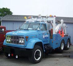 Just Tow Trucks - oldirongarage Big Rig Trucks, Gmc Trucks, Tow Truck, Medium Duty Trucks, Equipment Trailers, Heavy Truck, Vintage Trucks, Classic Trucks, Tractors