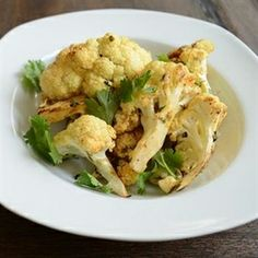 Cauliflower with Chili, Lime and Cilantro