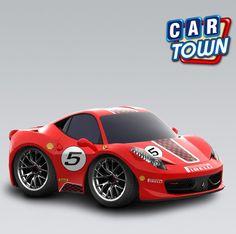 ¡Novedad hoy en Car Town: el Ferrari 458 Challenge! Esta versión de alta velocidad de la 458 Italia trae un cockpit estilizado, algunas otras alteraciones útiles para carreras y más toda potencia de un Ferrari para desempeños realmente impresionantes en las pistas. ¡Añade hoy la 458 Challenge para tu colección Ferrari!