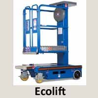 The Power Tower #Ecolift & #Pecolifts are a simple, safe and efficient alternative to step-ladders, platform/ podium steps and small scaffold towers.