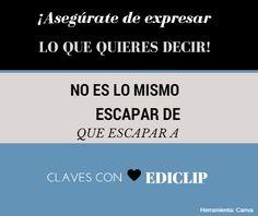 Escapar de, usado para referirse a situaciones, como Escapar la crisis; escapar a, usado para referirse a sitios, por ejemplo: Carlos quiere escapar a la selva.