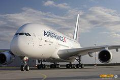 A Air France opera uma frota de 10 A380 -  Durante  as Olimpíadas estarão previstos voos para  ao Rio de Janeiro