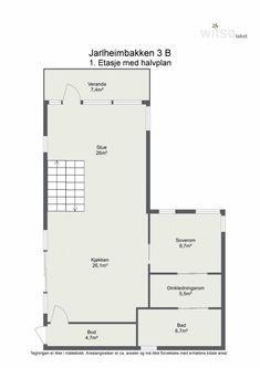 FINN – LADE - Arkitekttegnet lavenergibolig fra 2011 - 8.500 kW/h pr. år - Meget høy standard - Attraktiv og sentral beliggenhet - Solrike uteplasser - Kledning og tak i Kebony (Svanemerket) Floor Plans, Real Estate, Home, Real Estates, Ad Home, Homes, Haus, Floor Plan Drawing, House Floor Plans