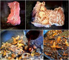 Cuisson recette plancha boeuf de dessus de palette sauce forestière - Kaderick…