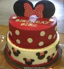 red polka dot mickey cake - Google Search