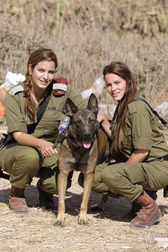 girlactionfigure: Two more reasons why our enemies hate us so much. Share this post if you like IDF Women Warriors!