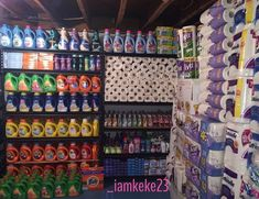 Easy Prepper's Pantry Storage Inspiration For Outlasting A Disaster - No-Fuss Solutions In Making Your Pantry Revealed - Prepper Bob Pantry Shelving, Pantry Storage, Food Storage, Coupon Organization, Home Organization, Saving Coins, Stock Room, Coupon Stockpile, Extreme Couponing