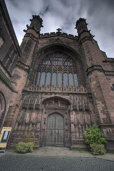 Chester Cathedral, UK dates from 660! Amazing