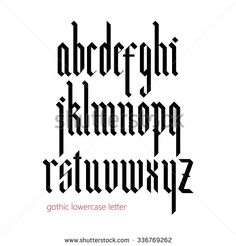 german gothic blackletter - Google Search