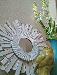 twelveOeight: Rustic Modern Mirror