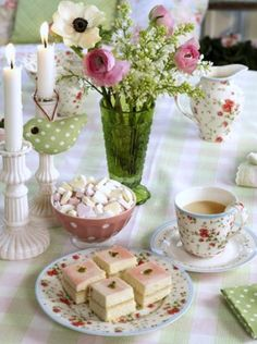 Would love to host a traditional tea party using my mom's china cups.