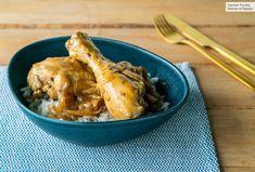 Jamoncitos de pollo al café, vídeo receta de cocina fácil, sencilla y deliciosa Pollo Guisado, Pollo Chicken, Apple Pie, Keep It Cleaner, Meat, Recipes, Ideas Rápidas, Food, Dessert