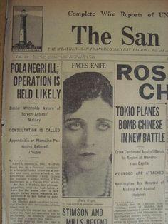 1931 newspaper article
