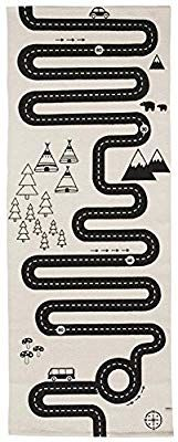 Kids Room Rug Adventure Play Mat Road Floor Cotton Carpet with Printed Racing Trip Decoration Great for Playing with Cars Room Carpet, Diy Carpet, Carpet Ideas, Modern Carpet, Cheap Carpet, Hacks Ikea, Carpets For Kids, Carpet Design, Room Rugs