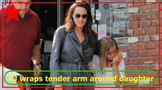 Angelina Jolie wraps tender arm around daughter Vivienne - MulluTV