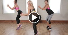 "The most important factor for improving cardiorespiratory fitness (cardio or CR) is the intensity of the workout. Changes in CR fitness are directly related to how ""hard"" an aerobic exercise is performed. Dance Workout Videos, Cardio Dance, Dance Exercise, Toning Workouts, Fun Workouts, Dance Workouts, Zumba Toning, Yoga Fitness, Dance Fitness"