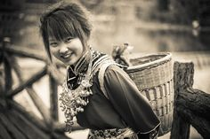 Girl carrying basket in China from #treyratcliff at www.StuckInCustom... - all images Creative Commons Noncommercial.