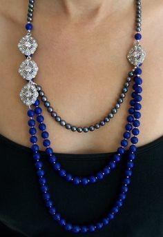 Lapis Lazuli Necklace Dalia Koss