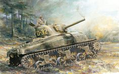 Military Memes, Military Art, Tank Warfare, Tank Armor, Sherman Tank, Ww2 History, War Thunder, Ww2 Tanks, Battle Tank