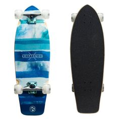 Kryptonics Blue Fish Super Fat 30.5 in. Cruiser Complete Skateboard - 163411
