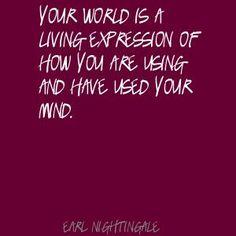 Earl Nightingale - Your World