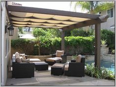 15 best shade ideas for backyard images outdoor rooms curved rh pinterest com