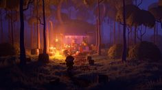 Forest market on Behance