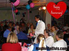 Nashville Elvis Impersonator Chuck Baril Happy Anniversary  #nashvilleelvisimpersonator