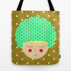 Am dotful Tote Bag by AmDuf - $22.00