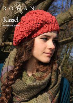 The Vintage Pattern Files: Free 1930's Style Knitting Pattern - Kassel Slouchy Beret