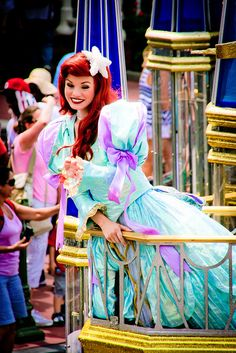 Ariel :) celebrate a dream come true!