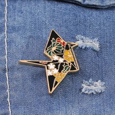 Purchase Cute Crane Pattern Badge Unisex Fabric Decor Enamel Brooch Pin Jewelry Gift from Aofa on OpenSky. Share and compare all Jewelry. Crane Design, Unisex Fashion, Fabric Decor, Brooch Pin, Jewelry Gifts, Badge, Cufflinks, Adidas, Cute
