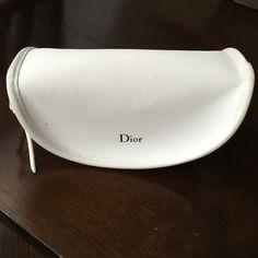 Dior glass case Dior white glass case Christian Dior Accessories Sunglasses