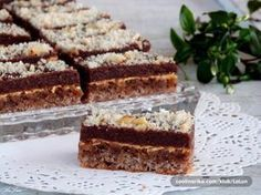 Magdalena ~ Recepti i Savjeti Sweet Desserts, Sweet Recipes, Baking Recipes, Cake Recipes, Condensed Milk Cake, Czech Recipes, Sweet Cakes, Desert Recipes, Cake Cookies