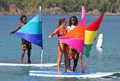Ta'loo-ard Paddle Sail - Paddle Board Sailing