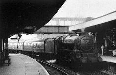 Accrington Railway Station Colne to Blackpool June 1962