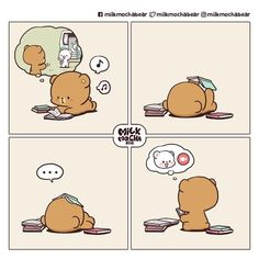 Cute Love Pictures, Cute Cartoon Pictures, Cute Love Gif, Cute Images, Kawaii Love, Kawaii Cat, Chibi Cat, Cute Anime Chibi, Cute Bear Drawings
