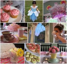 princess party see the tulle on table idea