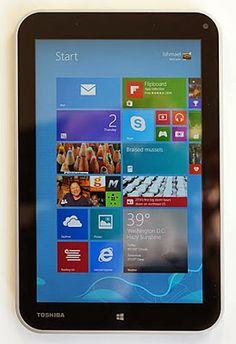Toshiba Encore Windows 8 Tablet Video Review