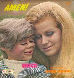 OK, it's creepy. But the funny thing to me is that the doll has better hair than she does.